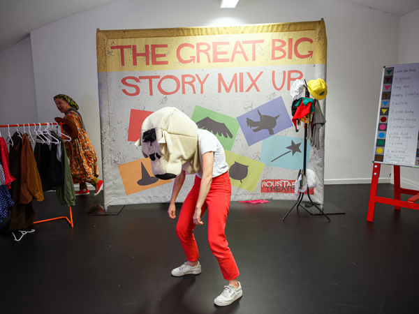 The Great Big Story Mix Up: actor in animal head