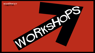 Arrow labelled Workshops